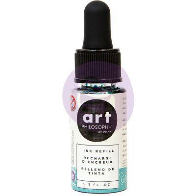 Prima Color Philosophy Dye Ink Refill .5Oz Sea Breeze - CPDIR-30744
