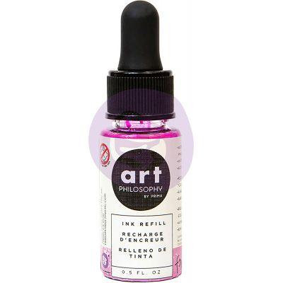 Prima Color Philosophy Dye Ink Refill .5Oz Frosting - CPDIR-30836