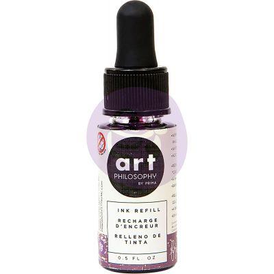 Prima Color Philosophy Dye Ink Refill .5Oz Brunch Sangria - CPDIR-30850
