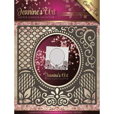 Find It Trading Jeanine'S Art Garden Classics Die Lace Frame, Center Oval - JAD10003