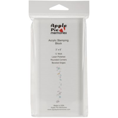 Apple Pie Memories Acrylic Stamp Block 3