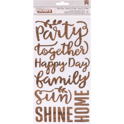 Patio Party Thickers Stickers 5.5