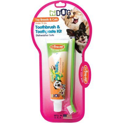 Ez Dog Pet Dental Kit Toy Breed/Cat - FFP7500