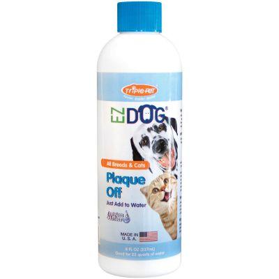 Ez Dog Pet Plaque Off 8Oz  - FFP4544