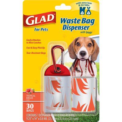 Glad Waste Bag Dispenser With Scented Bags  - FFP8646