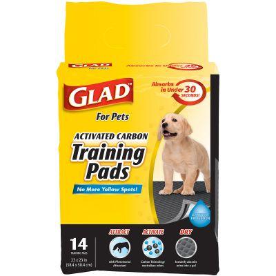 Glad Activated Carbon Training Pads 14/Pkg  - FFP8651