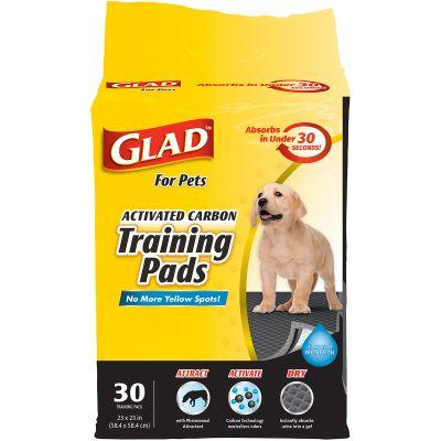 Glad Activated Carbon Training Pads 30/Pkg  - FFP8652
