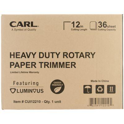 Carl Heavy Duty Rotary Trimmer 12