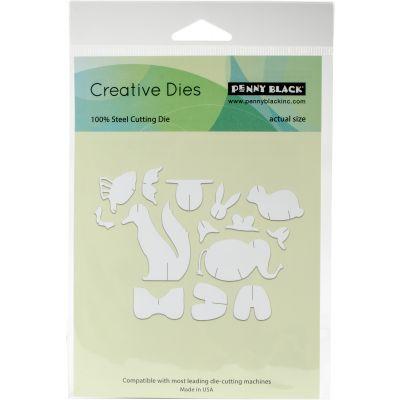 Penny Black Creative Dies 3D Animals, 4.2