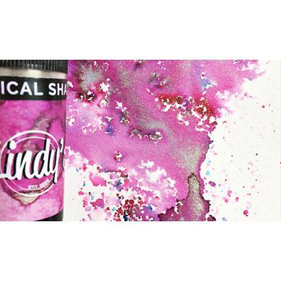 Lindy'S Stamp Gang Magical Shaker Magnolia Magenta Gold - MSHAKE-19