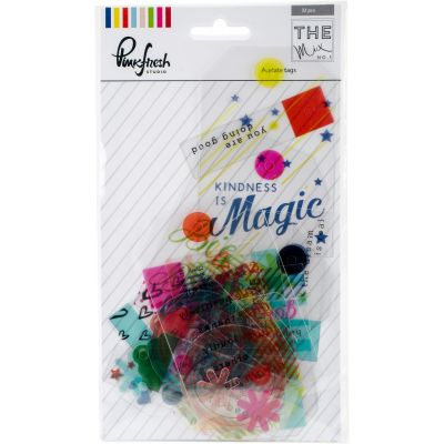 Pinkfresh The Mix No. 1 Acetate Die Cuts 32/Pkg Tags - RC501016