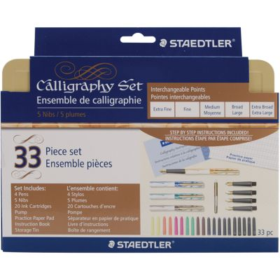 Calligraphy Pen Set 33Pcs  - SM5V