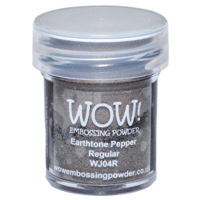 Wow! Embossing Powder 15Ml Pepper - WOW-WJ04R