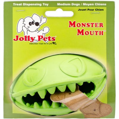Monster Mouth Ball Green 4