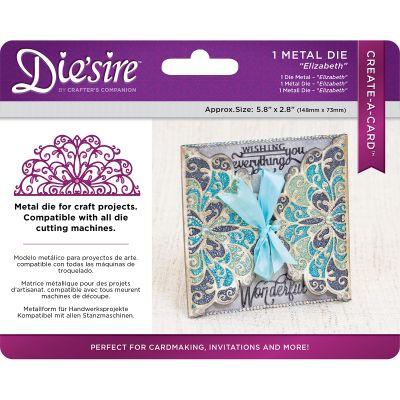 Die'Sire Create A Card Wrap Die Elizabeth - DSCADELI