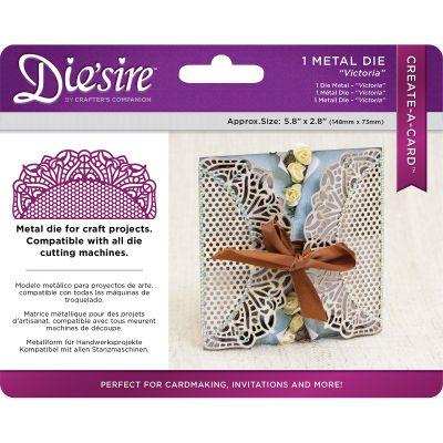 Die'Sire Create A Card Wrap Die Victoria - DSCADVIC