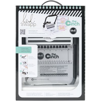 Heidi Swapp Cinch Book Binding Tool W/Square Holes 11.5