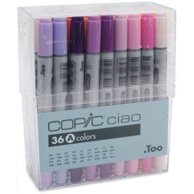 Copic Ciao Markers Set 36/Pkg Set A - I36A