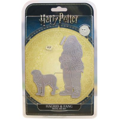 Harry Potter Die And Face Stamp Set Hagrid & Fang - DIS2310