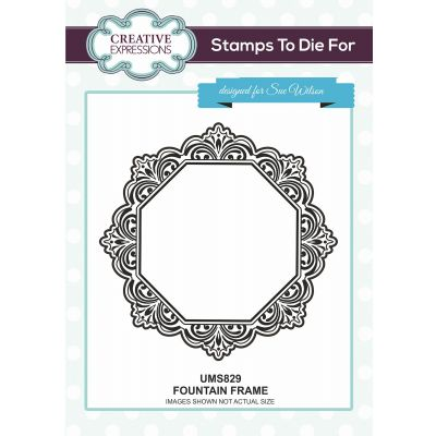 Creative Expressions Stamps To Dies For By Sue Wilson Fountain Frame - UMS829