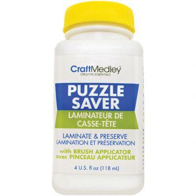 Craft Medley Puzzle Saver Glue 4Oz - GL600