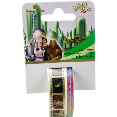 Paper House Washi Tape 2/Pkg Wizard Of Oz, 15Mmx10M And 5Mmx10M - STWA0021