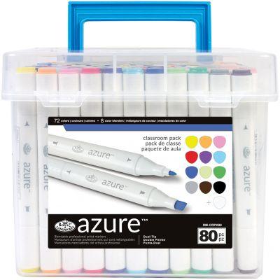 Azure Marker Classroom Pack 80/Pkg  - RM-CRPK