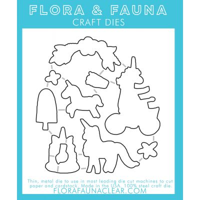 Flora & Fauna Dies Unicorn Magic - FF30051