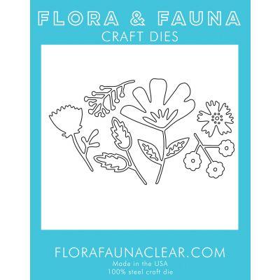 Flora & Fauna Dies Flower Blossom Set 1 - FF39053