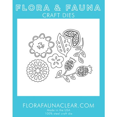 Flora & Fauna Dies Flower Blossom Set 3 - FF39057