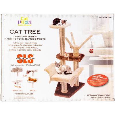 Cat Life Cat Scratcher With Stable Locking System Brown - CATF4S