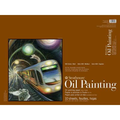 Strathmore 400 Series Oil Painting Pad 18