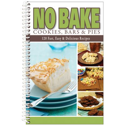 No Bake Cookies, Bars & Pies Cookbook  - CQ7011