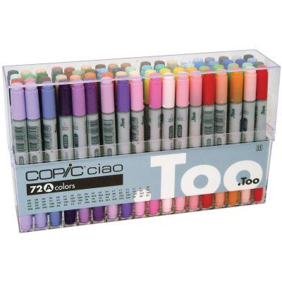 Copic Ciao Markers Set 72/Pkg Set A - I72-A