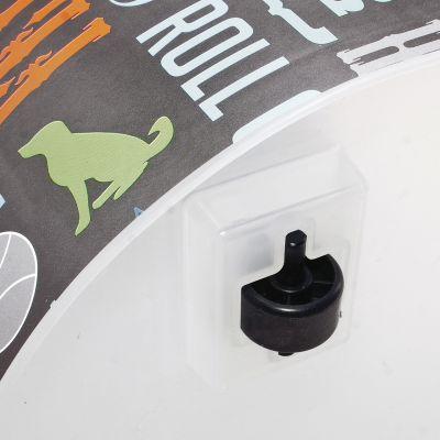 Plastic Rolling Pet Food Bin 15.5