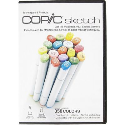 Copic Sketch Markers Dvd  - SDVD1