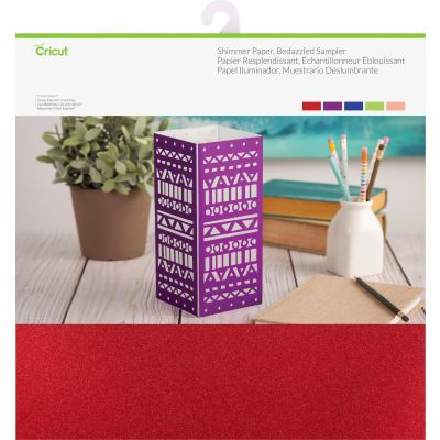 Cricut Shimmer Paper Sampler 12