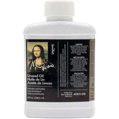 Mona Lisa Linseed Oil 8Oz - 170008