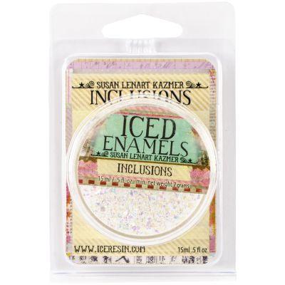 Iced Enamels Inclusions Mica .5Oz Opal - SLK2-1111