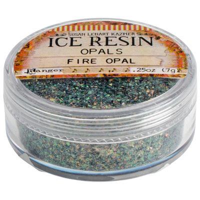 Iced Enamels Inclusions Mica .5Oz Fire Opal - SLK2-1112