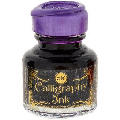 Manuscript Calligraphy Ink 30ml 6/Pkg-Purple, MSRP $7.95 Per Bottle