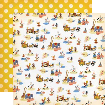 Circus Double-Sided Cardstock 12