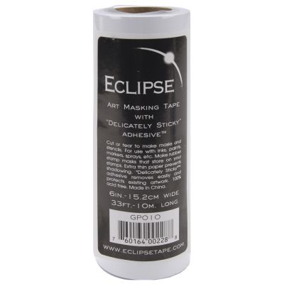 Eclipse Art Masking Tape Roll 15.2Cmx10 Meters - GP010