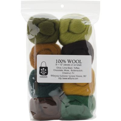 Wistyria Editions Wool Roving 12
