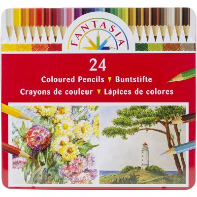 Fantasia Colored Pencil Set 24Pc  - 100160