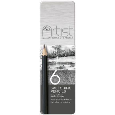 Fantasia Premium Sketch Pencil Set 6/Pkg  - 601010