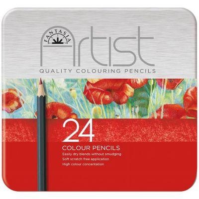 Fantasia Premium Colored Pencil Set 24Pc  - 601220
