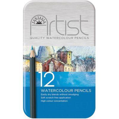 Fantasia Premium Watercolor Pencil Set 12Pc  - 601310