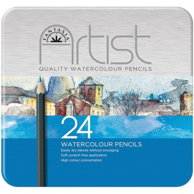 Fantasia Premium Watercolor Pencil Set 24Pc  - 601320