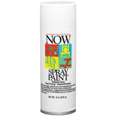 Now Aerosol Paint 9Oz Gloss White - NOW-21212